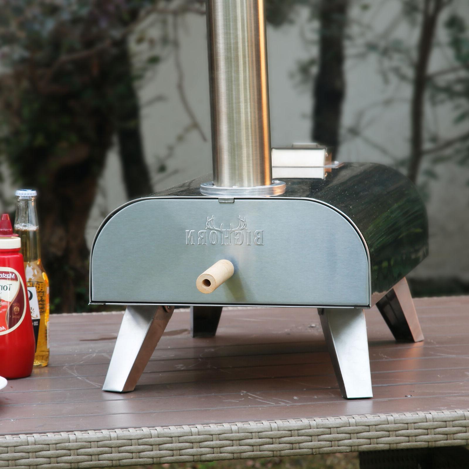 Big Pizza Oven Wood BBQ Smoker Food Grade