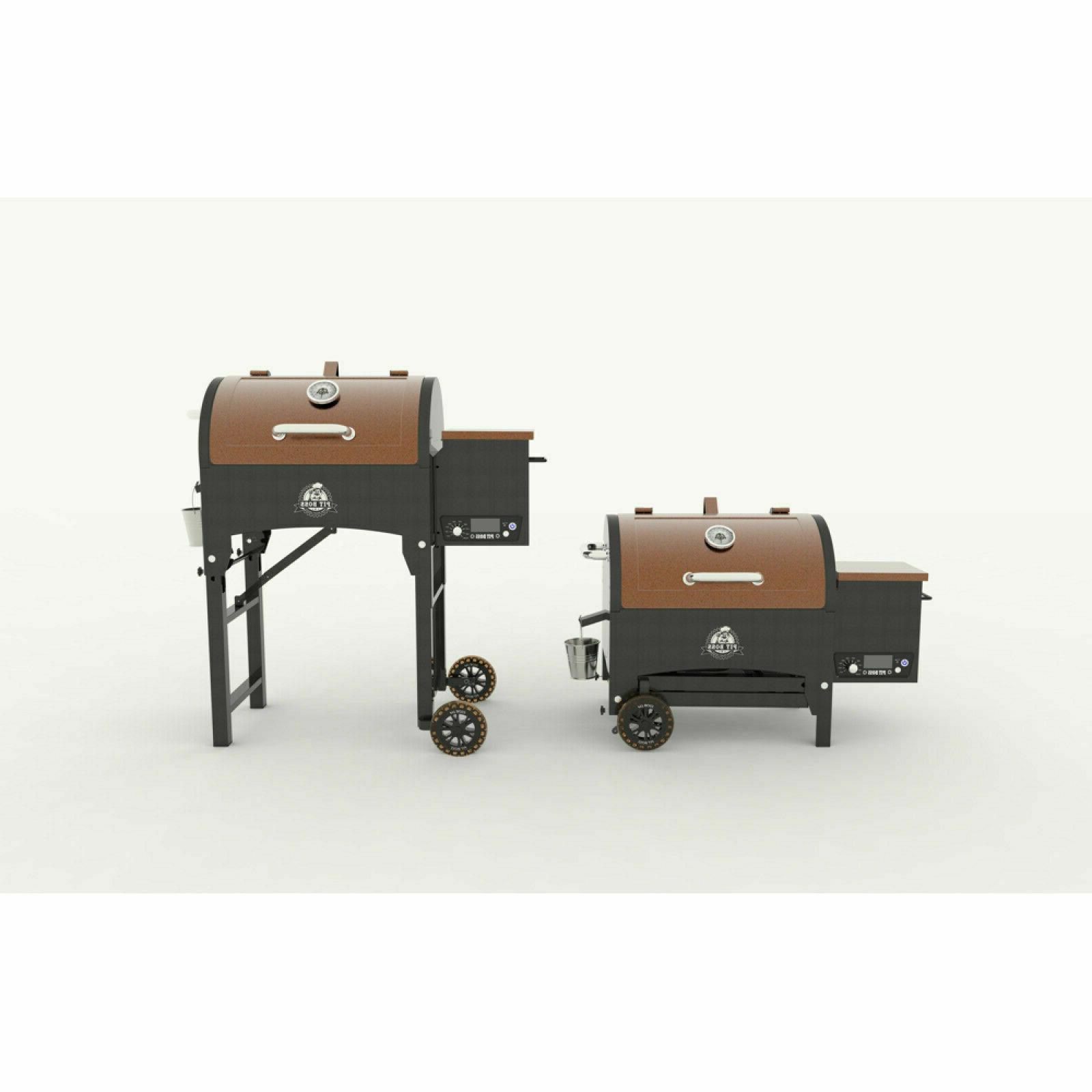Pit Boss Portable Tailgate/Camp Pellet Grill W/ Folding Legs