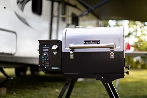 Camp Portable Stainless Steel Smoke - Grill