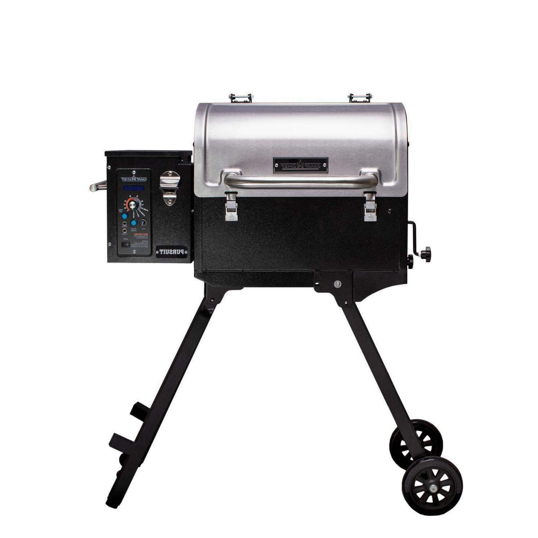 pursuit 20 portable pellet grill