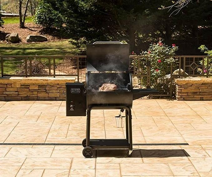 Masterbuilt WG600B Pellet Grill, Black