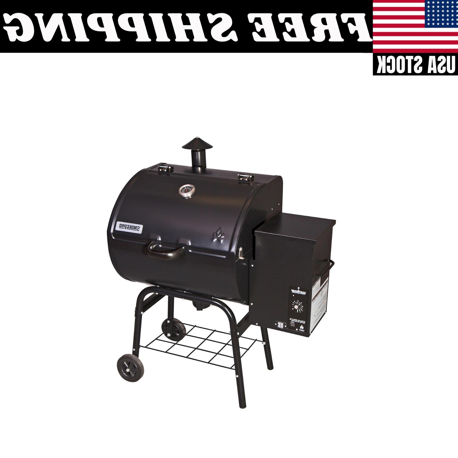 smoke pro se pellet grill backyard outdoor