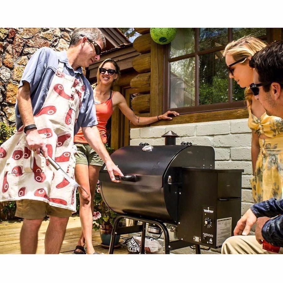 smoke pro se pellet grill free original