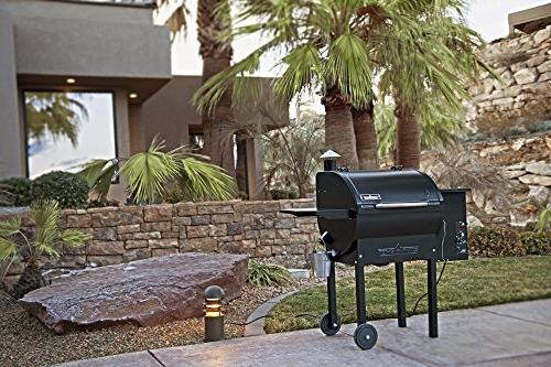 Camp DLX 24 Pellet Grill Included
