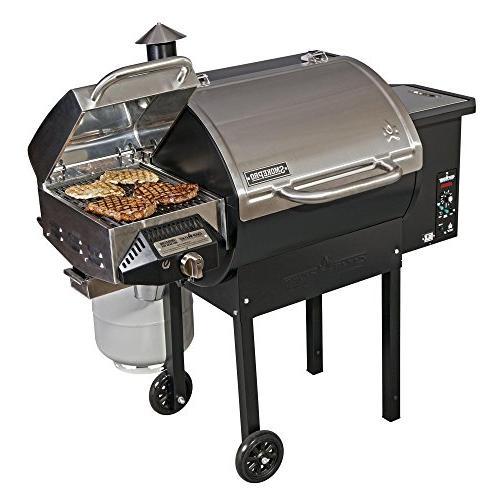 smokepro dlx pg24s pellet grill