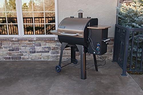 Camp Chef SmokePro 24 Wood Pellet Smoker,