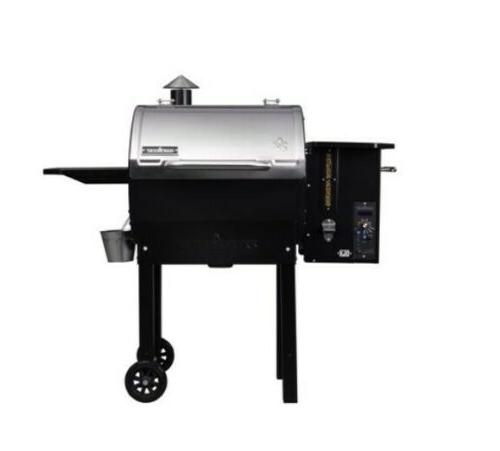 smokepro stainless dlx pellet grill new free