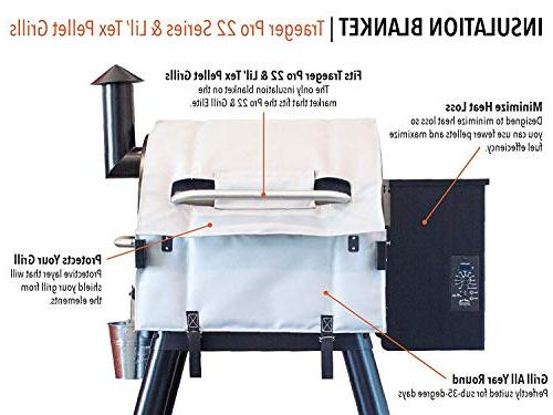 Traeger 22 Series and Tex – Winter - Compare Lil' Insulation - BAC344