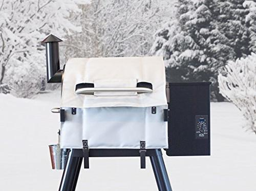 Smoker Traeger 22 and – Keep Grilling During Winter Lil' Tex - BAC344