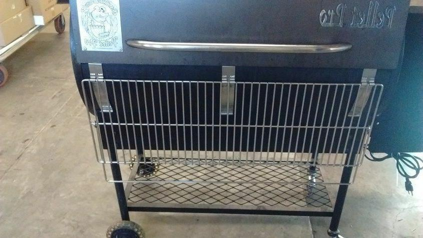 34x12 Powder coated Front Grill,Traeger,Camp