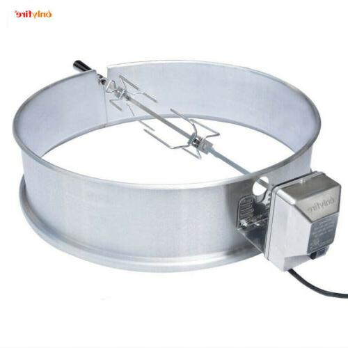 stainless steel rotisserie ring kit 21 5