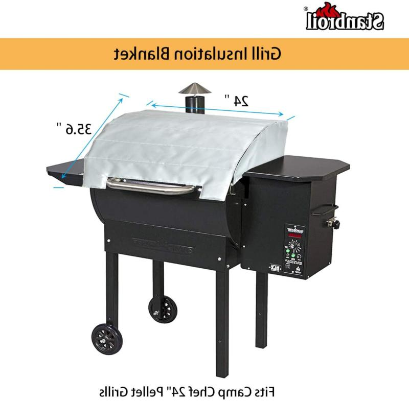 """Stanbroil Grill Thermal Insulation Blanket For Chef 24"""" Grills"""