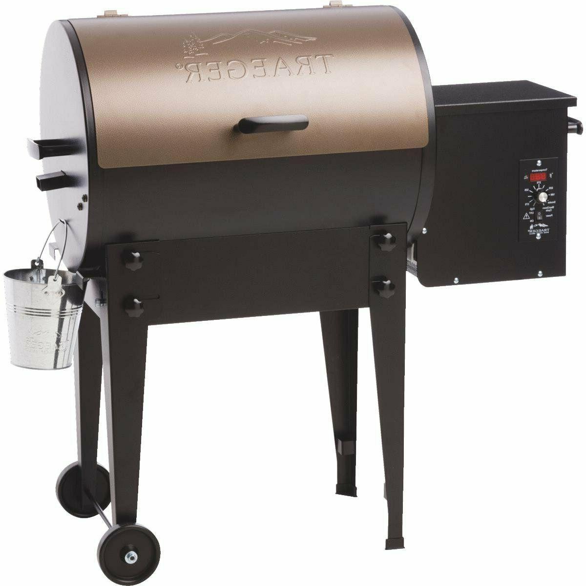 traeger bronze tailgater wood pellet grill tfb30lzb