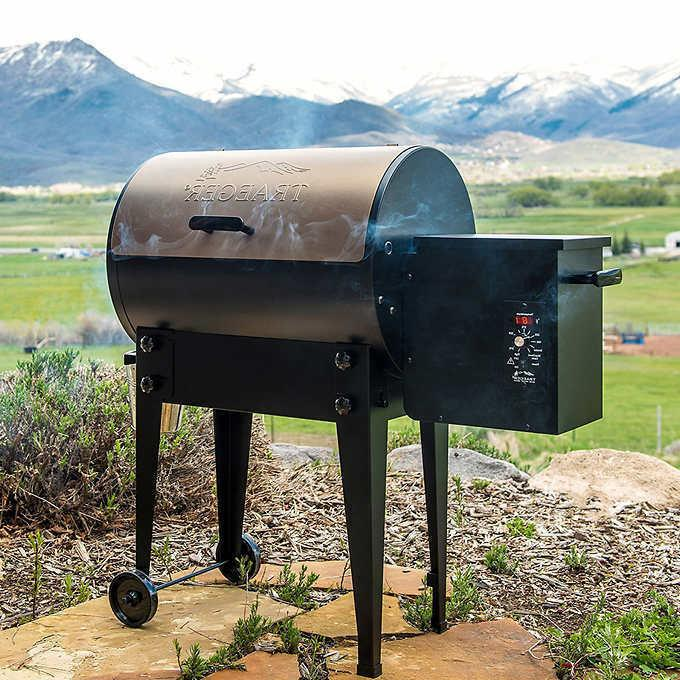 Traeger Junior Pellet Grill Outdoor Included