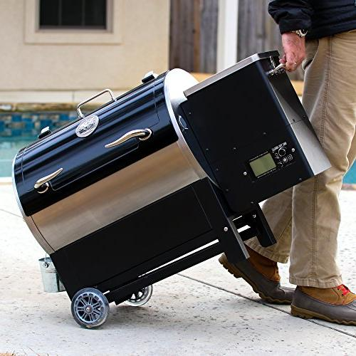 REC TEC Grills Trailblazer | RT-340 Bundle | Portable Wood Pellet Grill | Built in Probes | Stainless | 15lb 2 | Hotflash Ceramic