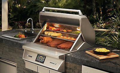 Twin Eagles Fired Smoker Grill
