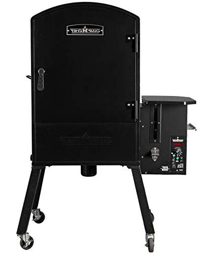 Camp Vertical Pellet Grill and - Smart - Patented Ash Cleanout -