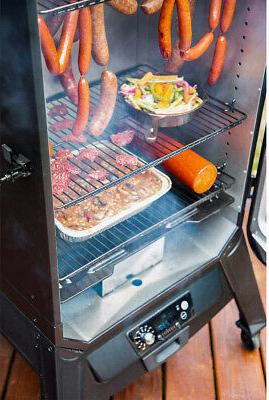 Louisiana Grills Vertical Smoker, Included