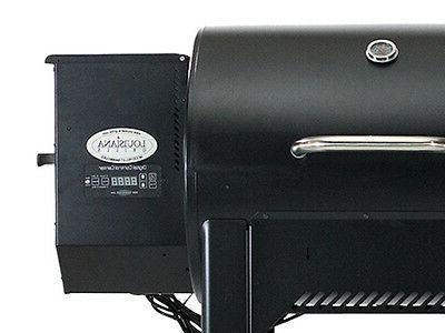 Barrel Pellet Smoker BBQ Grill Slow PIG