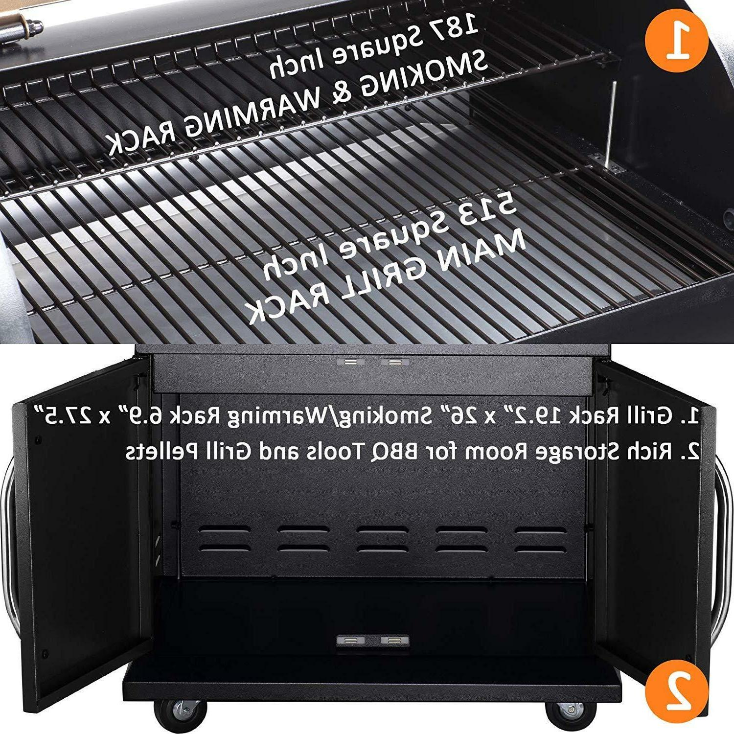Z Wood BBQ Grill Digital
