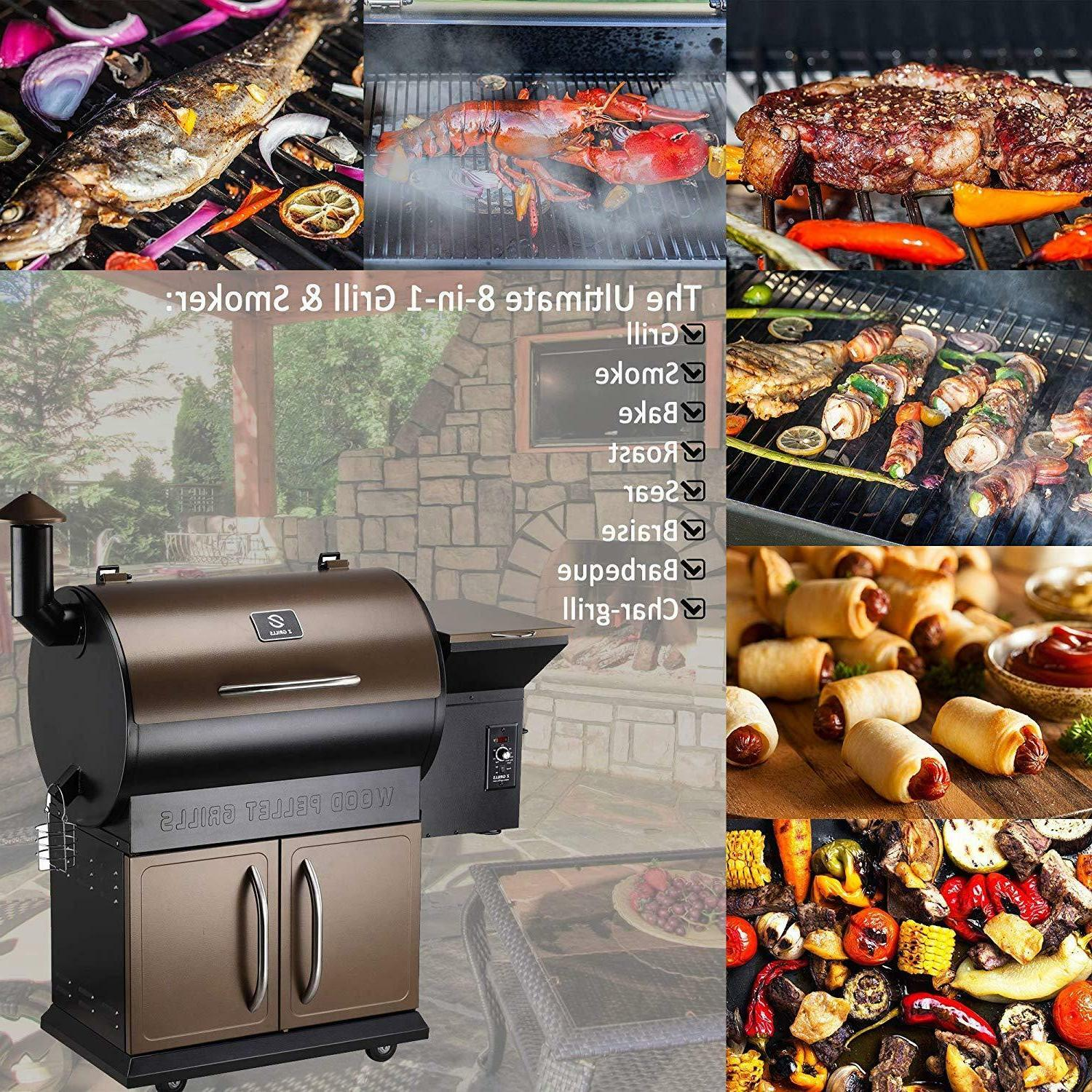Z Wood Pellet BBQ Smoker Digital