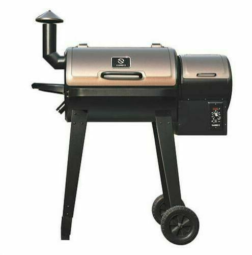 Z Wood Pellet BBQ Grill Smoker with Free Shipping