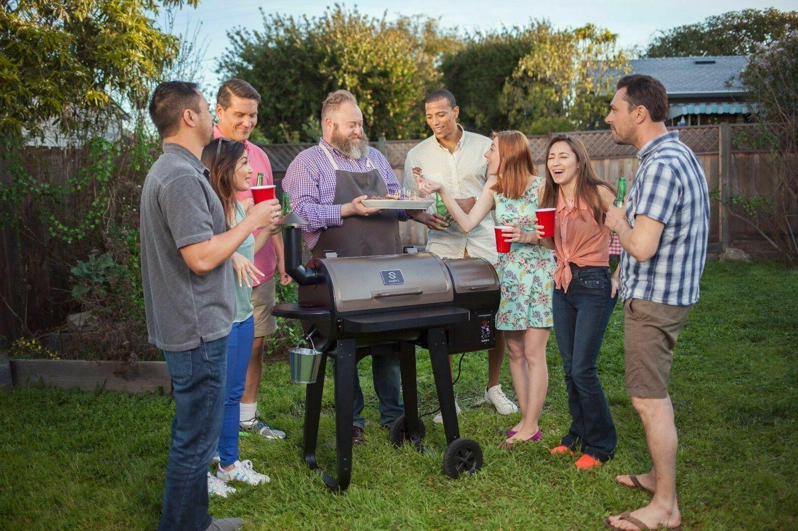 BBQ Grill with Control Free Shipping