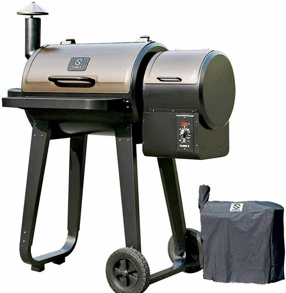 wood pellet bbq grill and smoker w