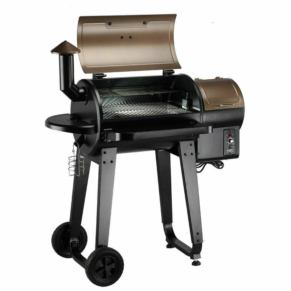 wood pellet bbq grill and smoker