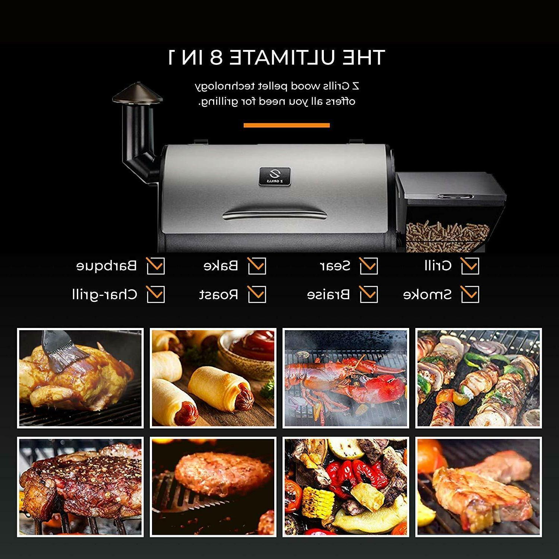 Z Wood Pellet BBQ Grill Roast Temp 700