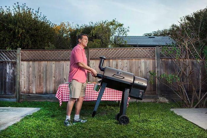 grill 8-in-1 control