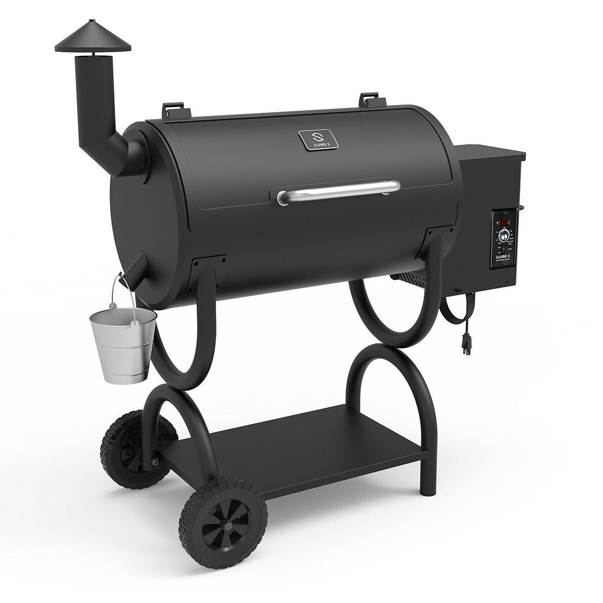 Z Grills ZPG-550B Wood Pellet Grill BBQ Smoker with Digital