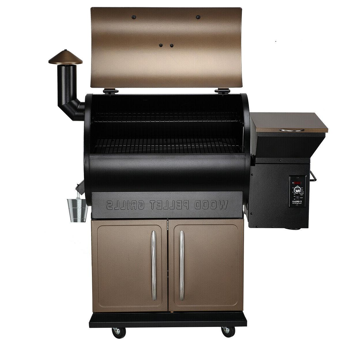 Z GRILLS Wood Grill Digital Control Free Cover ZPG-700D
