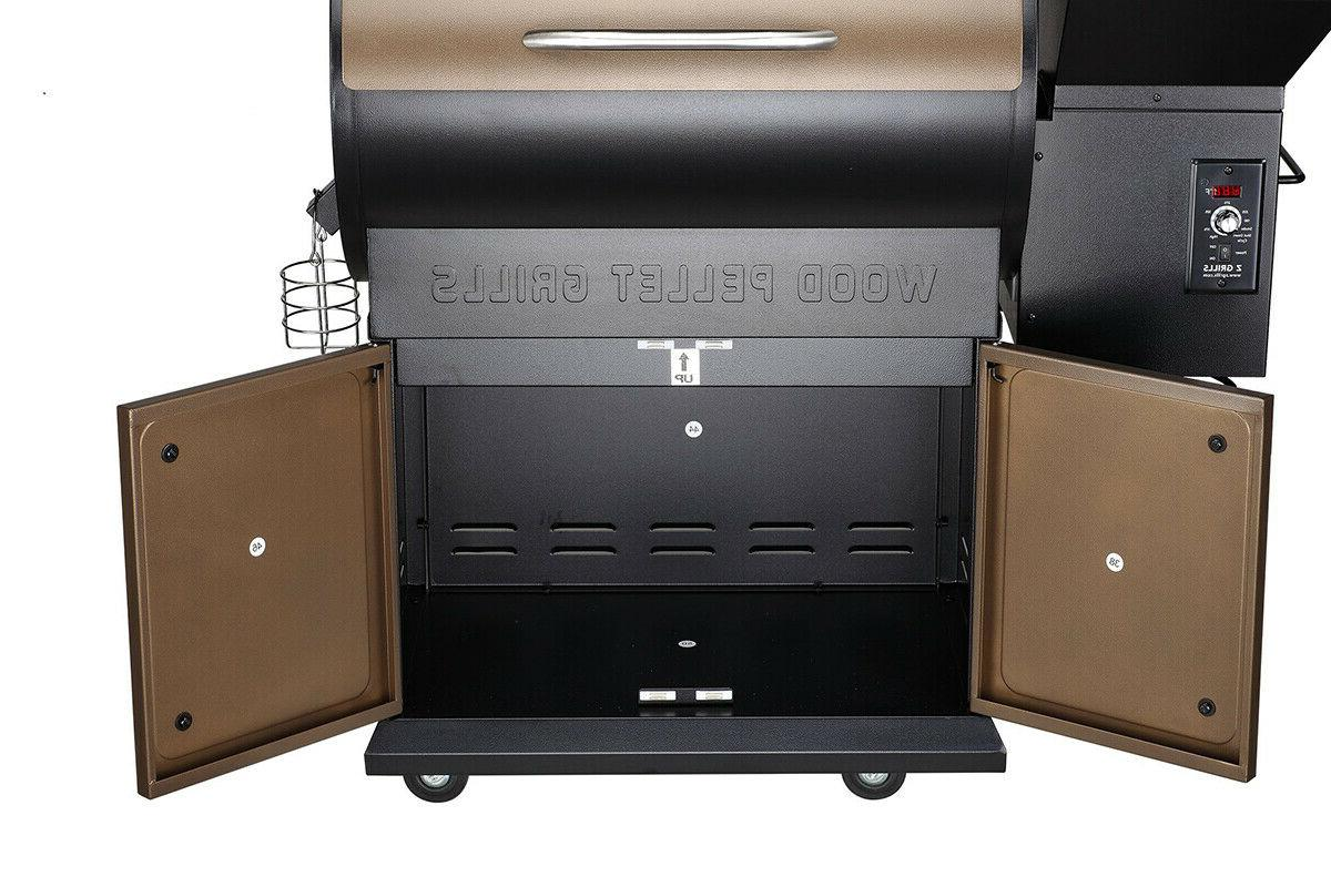Z Pellet Grill BBQ Control Free Cover ZPG-700D