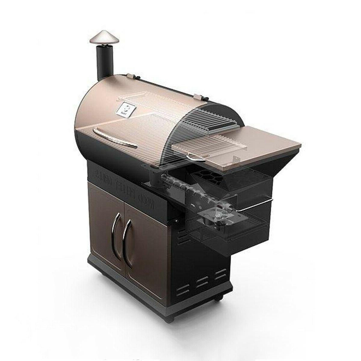 Z Pellet Grill Smoker Digital Control with