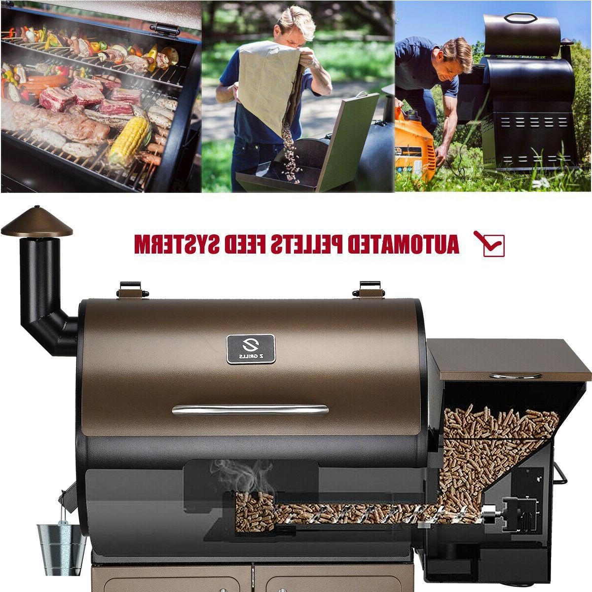 Z Grill BBQ Smoker Control Free Cover ZPG-700D