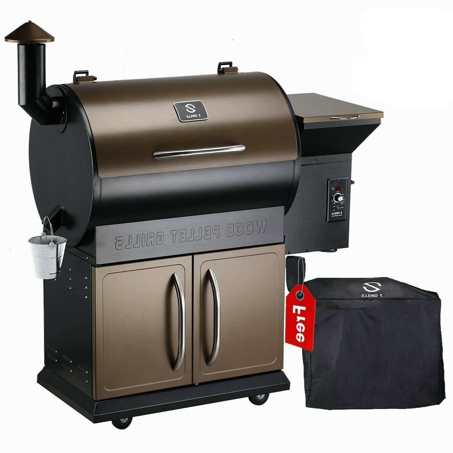 wood pellet grill bbq smoker digital control