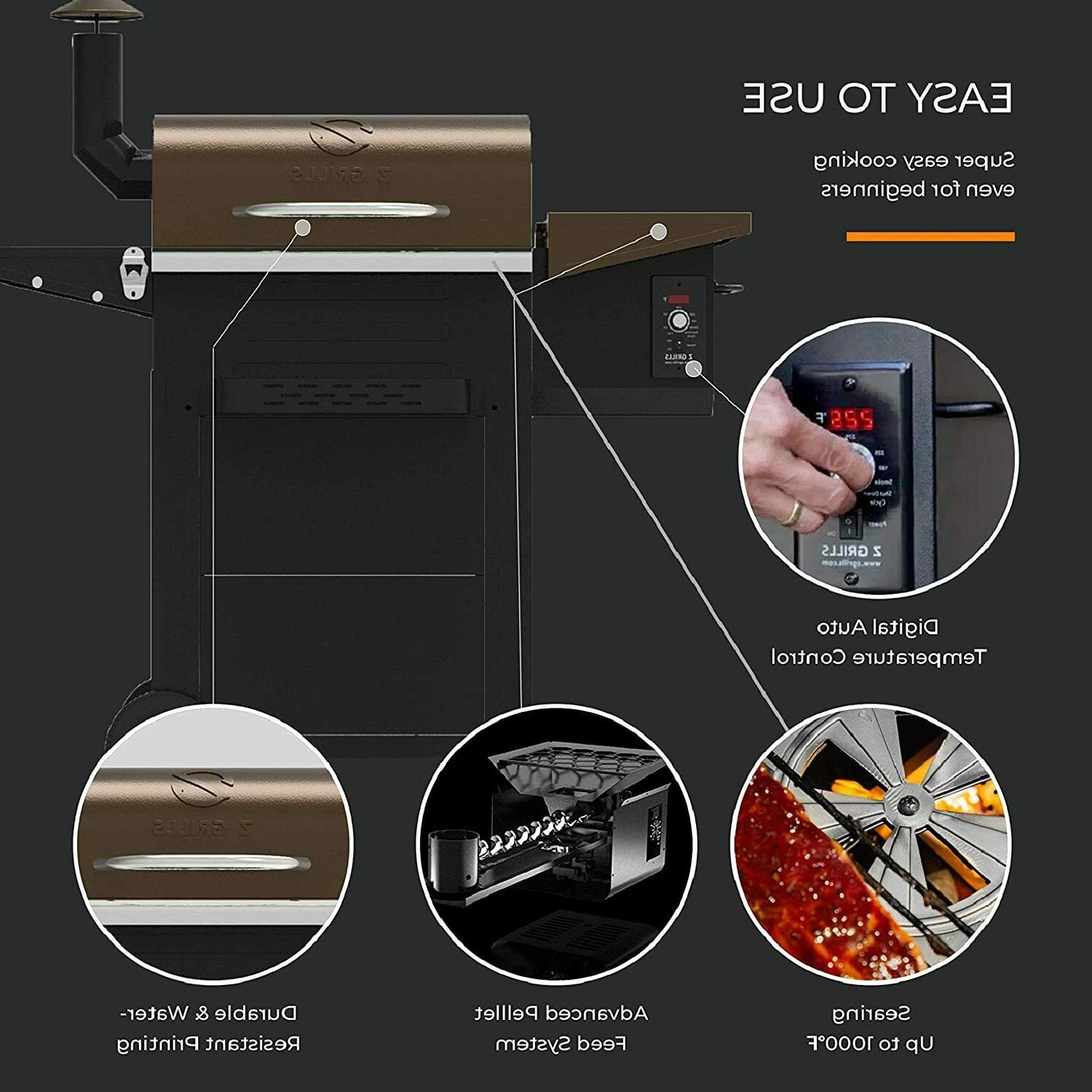 Z Grills Grills 600 Cooking 8- Bake,