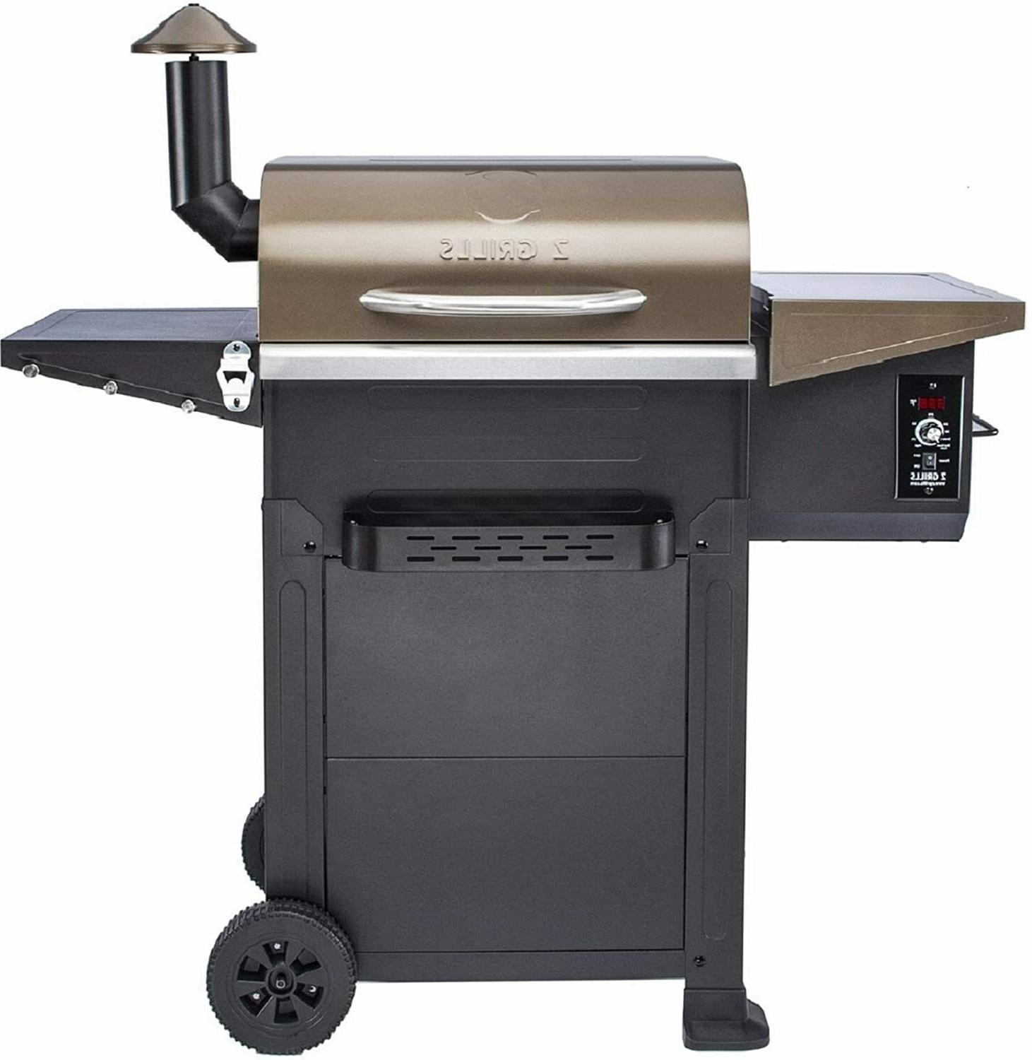 wood pellet grills 600 cooking area 8