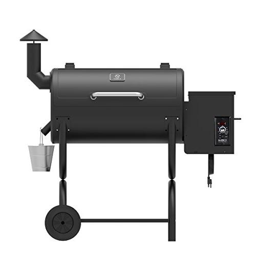 Z GRILLS Pellet Smoker 2018 Ourdoor BBQ Grill SQIN 10LB