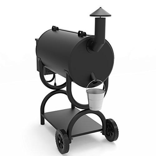 Z GRILLS Wood Smoker Ourdoor BBQ Grill SQIN