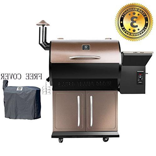 wood pellet smoker 700 cooking
