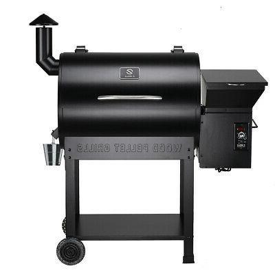 wood pellet smoker 700sq bbq