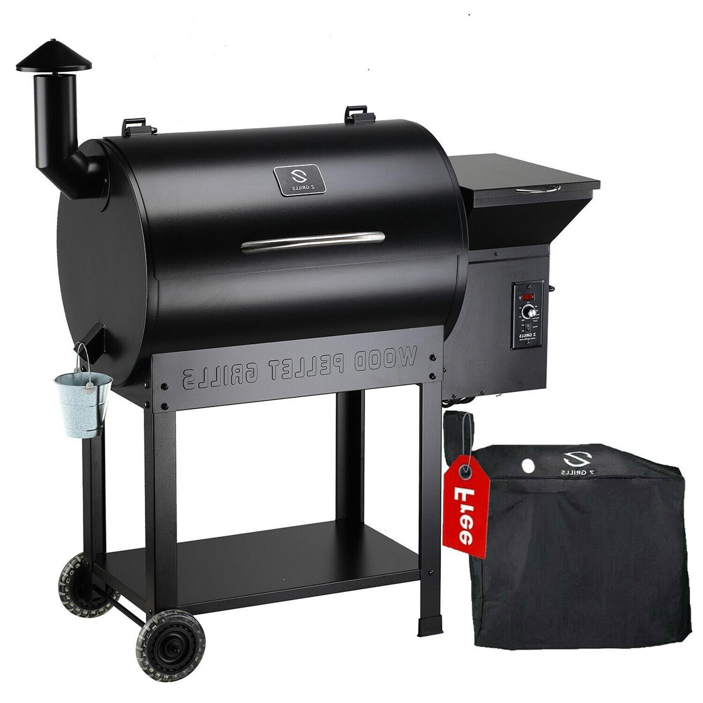 wood pellet smoker 700sq