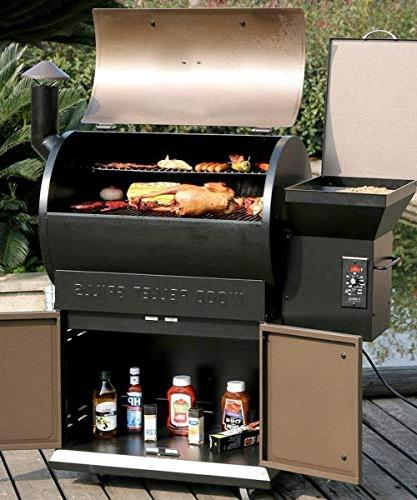 Z Grill Cooking Area 6 in Electric Digital Controls with Outdoor Bake, with Storage