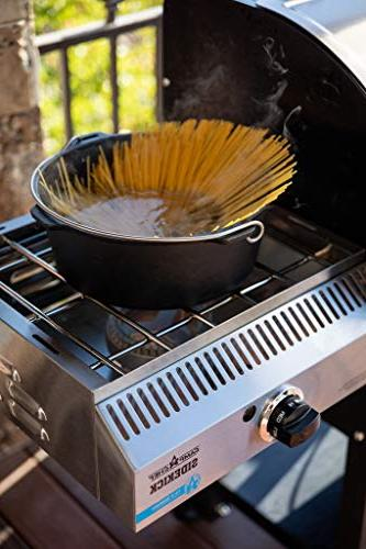 24 Pellet Grill Sidekick Stove/Griddle - World's Most BBQ Grill