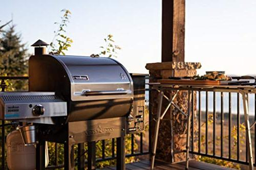 Camp 24 Grill with Sidekick Stove/Griddle World's BBQ Grill