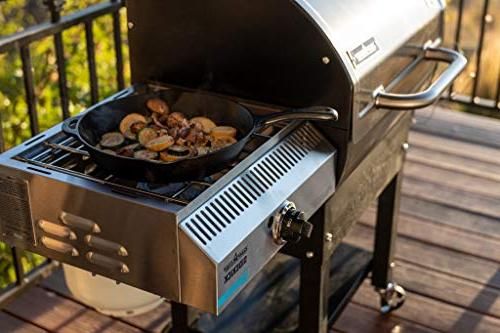 Camp Chef SG 24 Sidekick Accessory World's Versatile BBQ Grill
