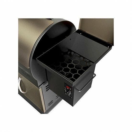 Z Wood Pellet Grill Smoke Control OutDoors