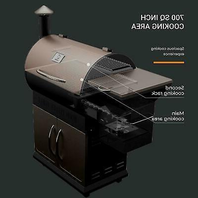 Z Wood Pellet Grill Digital Control Outdoor